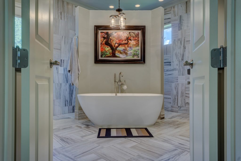 bathroom spa renovations Mountain View
