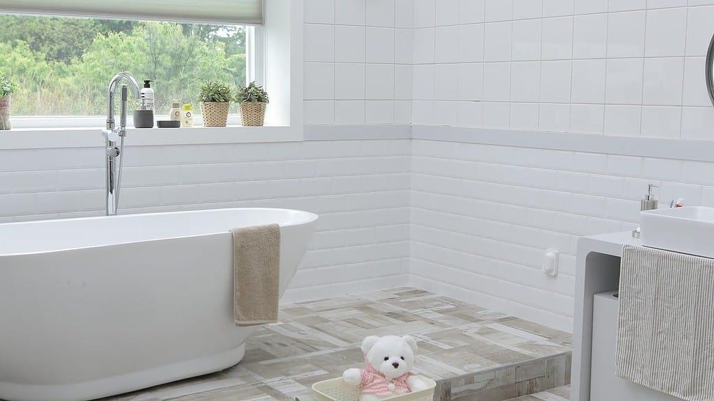 bathroom trends - heated flooring